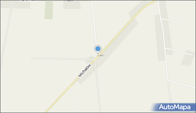 Michałów, Betlejem, mapa Michałów