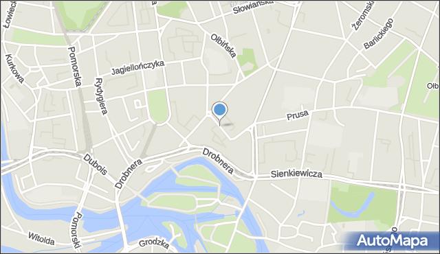 Wrocław, Kilińskiego Jana, mapa Wrocławia
