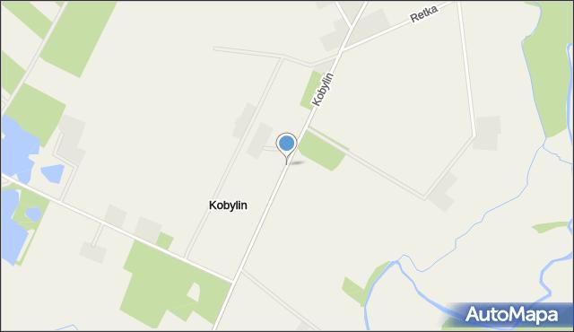 Kobylin, Kobylin, mapa Kobylin