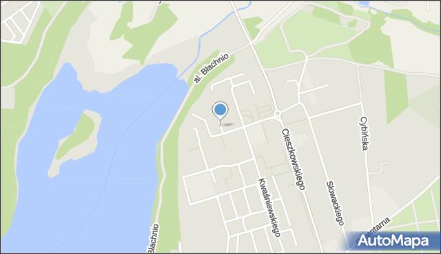 Swarzędz, Kościuszkowców, os., mapa Swarzędz
