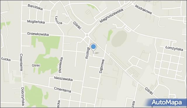 Bydgoszcz, Krecia, mapa Bydgoszczy
