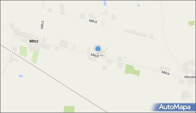 Milcz, Milcz, mapa Milcz