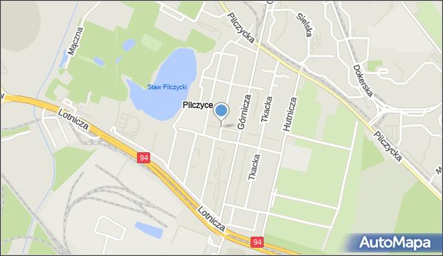 Wrocław, Murarska, mapa Wrocławia