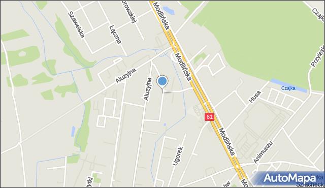 Warszawa, Osiedle, mapa Warszawy