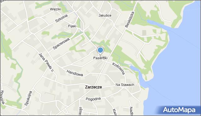 Pasierbki, Pasierbki, mapa Pasierbki