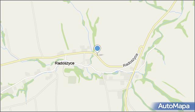 Radoszyce, Radoszyce, mapa Radoszyce