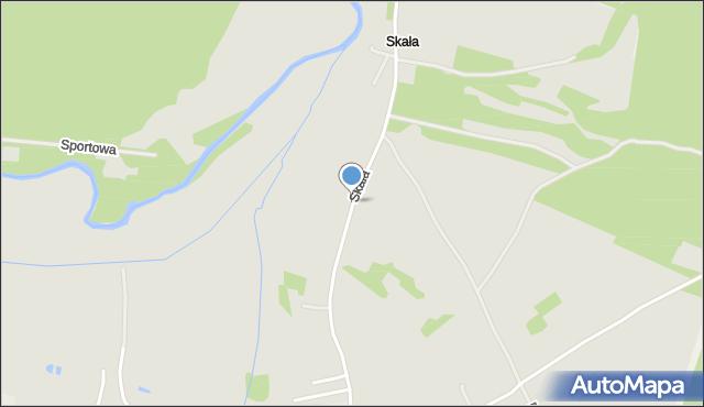 Ćmielów, Skała, mapa Ćmielów