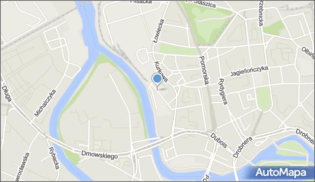 Wrocław, Składowa, mapa Wrocławia
