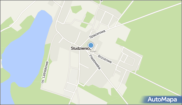Studzienice, Studzienice, mapa Studzienice