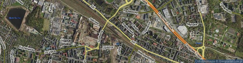 Zdjęcie satelitarne Armii Krajowej
