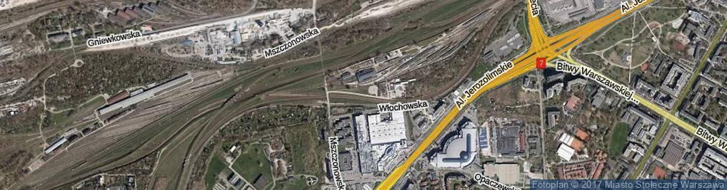 Zdjęcie satelitarne Berestecka