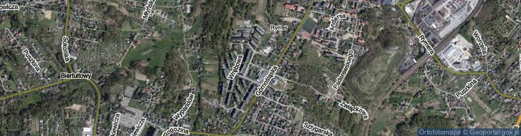 Zdjęcie satelitarne Boczna