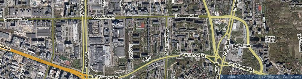 Zdjęcie satelitarne Bryły Stefana