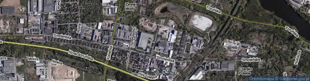 Zdjęcie satelitarne Budowlana