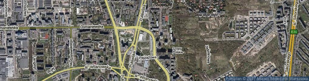 Zdjęcie satelitarne Bukowińska