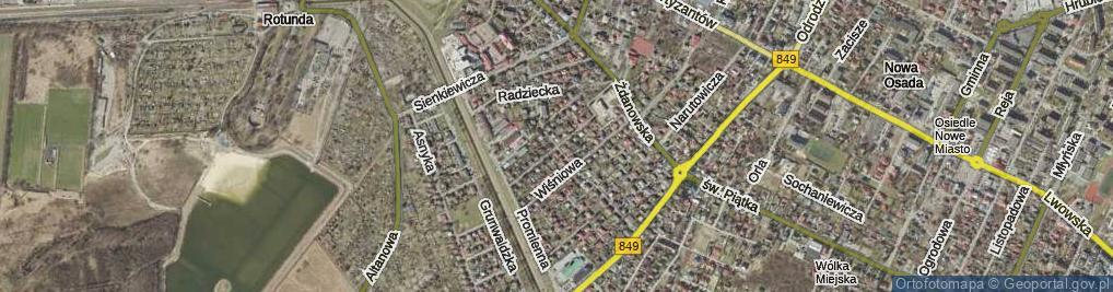Zdjęcie satelitarne Buczka Mariana ul.