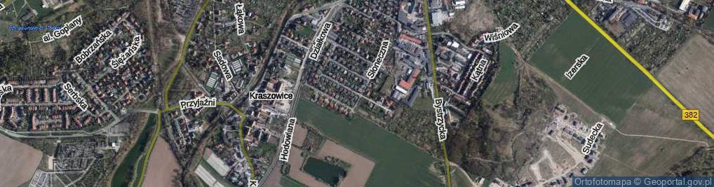 Zdjęcie satelitarne Czereśniowa