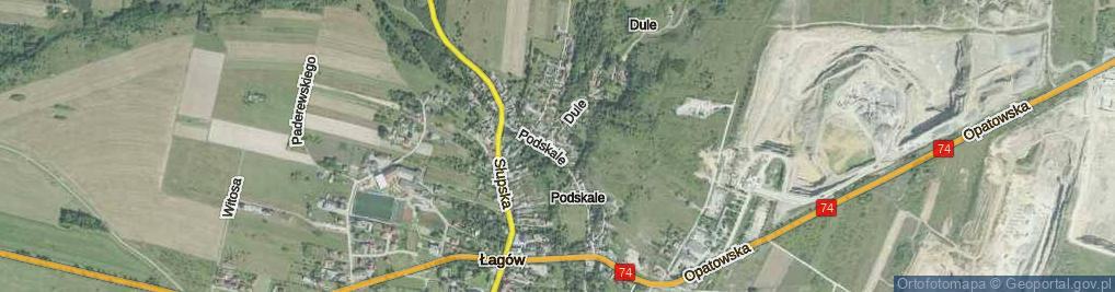 Zdjęcie satelitarne Dule ul.