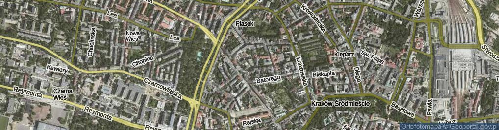 Zdjęcie satelitarne Feldmana Wilhelma