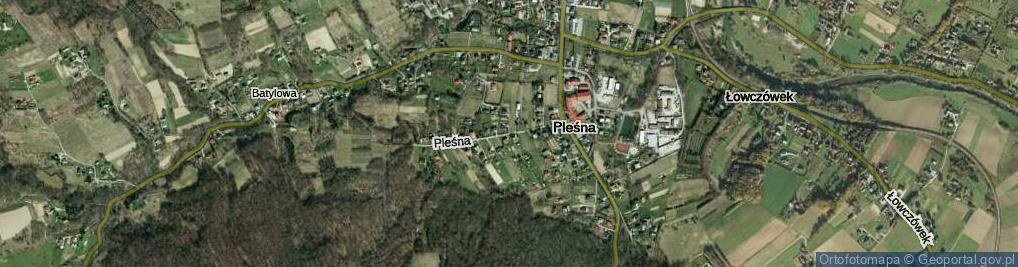 Zdjęcie satelitarne Gądówka ul.
