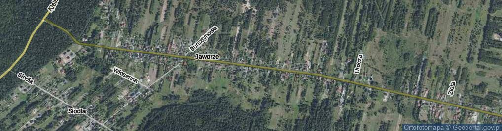 Zdjęcie satelitarne Jaworze