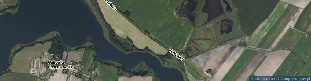Zdjęcie satelitarne Jerzykowo