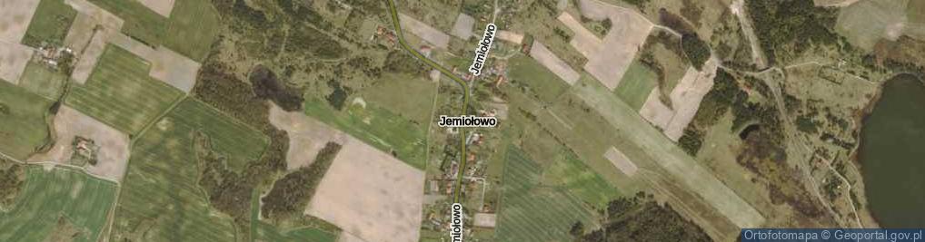 Zdjęcie satelitarne Jemiołowo