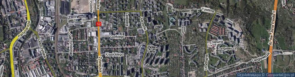 Zdjęcie satelitarne Jutrzenki