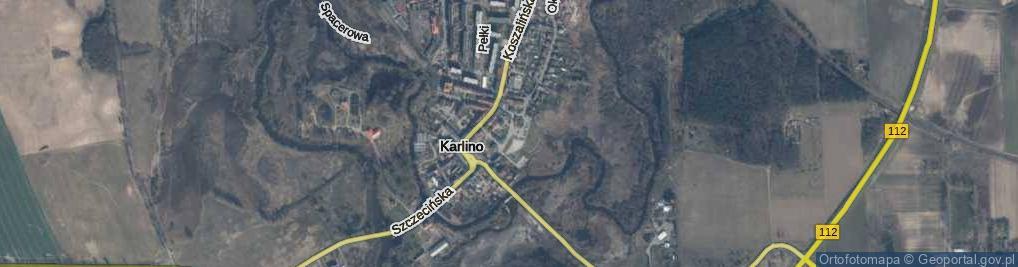 Zdjęcie satelitarne Konopnickiej