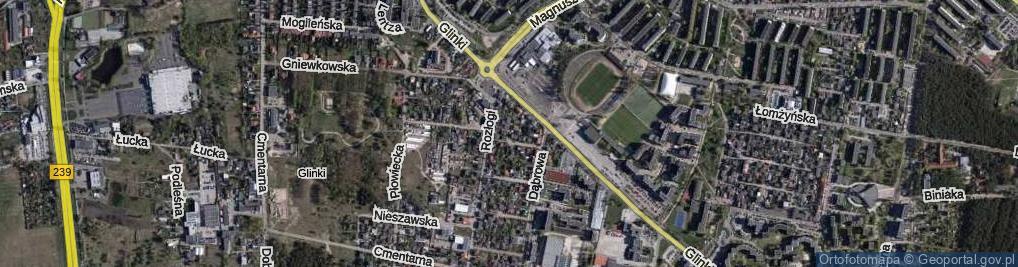 Zdjęcie satelitarne Krecia