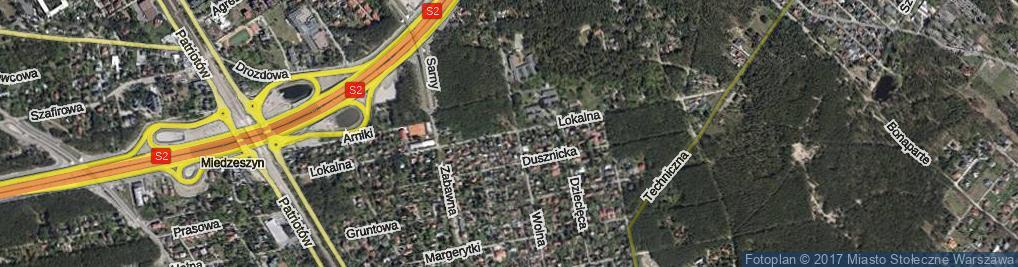 Zdjęcie satelitarne Lokalna ul.