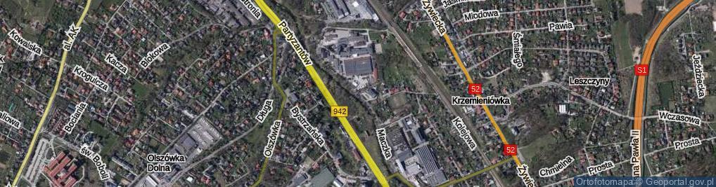 Zdjęcie satelitarne Maczka Stanisława, gen.