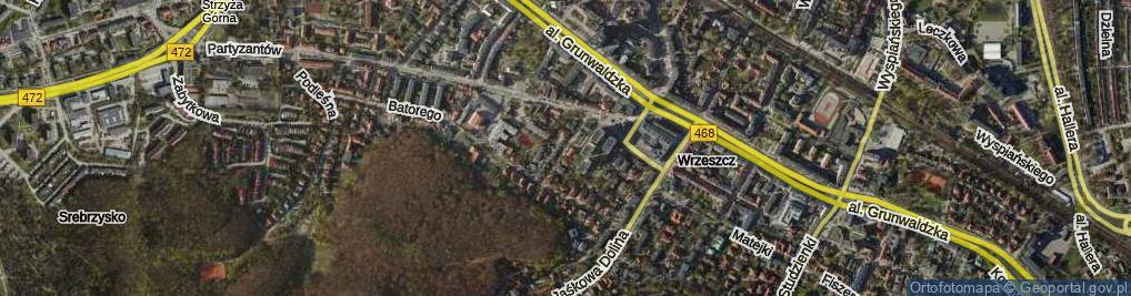 Zdjęcie satelitarne Matki Polki