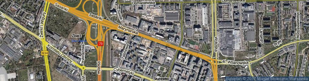 Zdjęcie satelitarne Marynarska