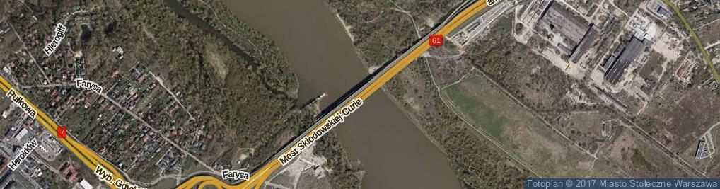 Zdjęcie satelitarne Most Północny
