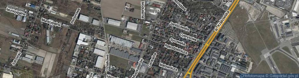 Zdjęcie satelitarne Muszkieterów ul.