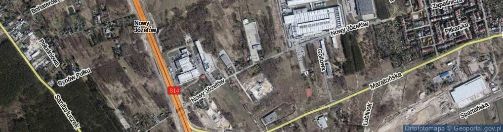 Zdjęcie satelitarne Nowy Józefów