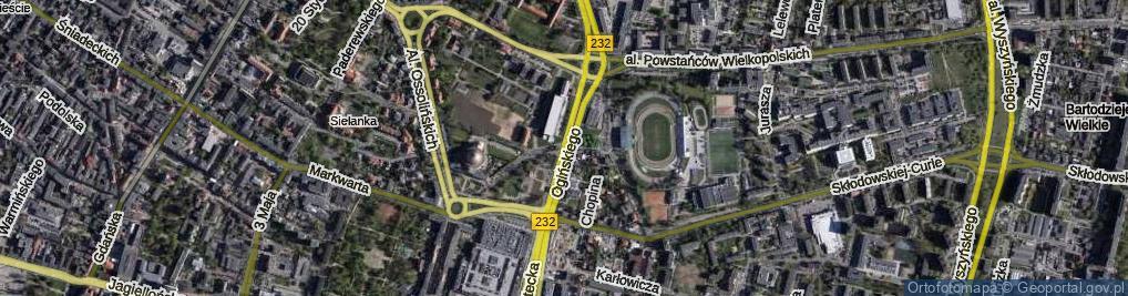 Zdjęcie satelitarne Ogińskiego Michała Kleofasa