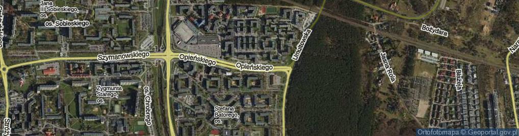 Zdjęcie satelitarne Osiedle Stefana Batorego os.