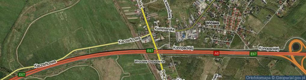 Zdjęcie satelitarne Pełczyńska ul.