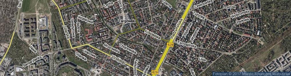Zdjęcie satelitarne Poranna