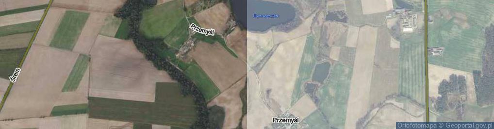 Zdjęcie satelitarne Przemyśl