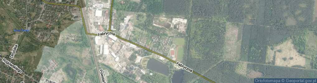 Zdjęcie satelitarne Pstrowskiego ul.