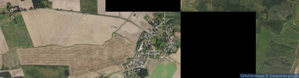 Zdjęcie satelitarne Radom