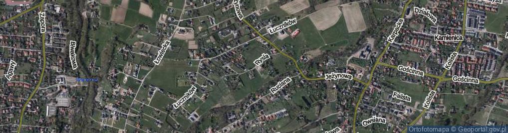 Zdjęcie satelitarne Rysia