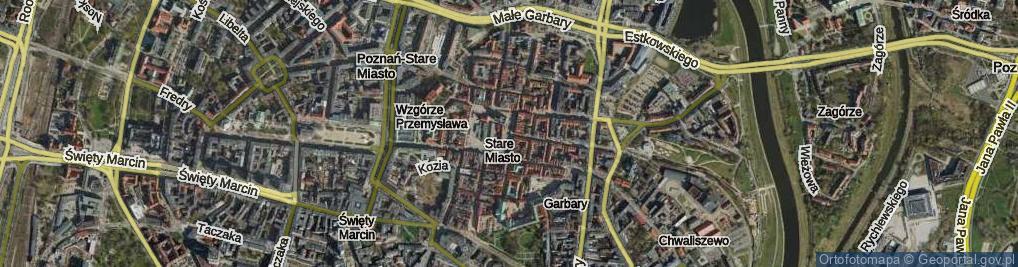 Zdjęcie satelitarne Rynek Stary ul.