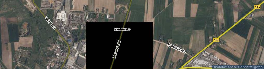 Zdjęcie satelitarne Rymarkiewicz Felicji ul.