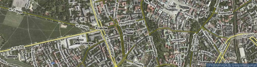 Zdjęcie satelitarne Smoleńsk