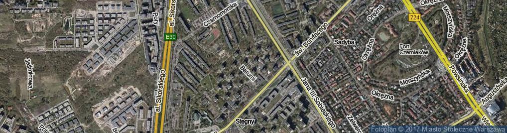 Zdjęcie satelitarne Soczi