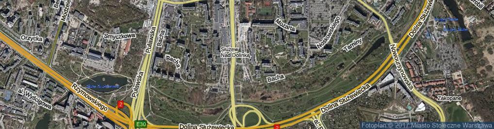 Zdjęcie satelitarne Sonaty